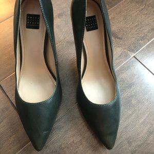 Dark green stilettos - White House Black Market